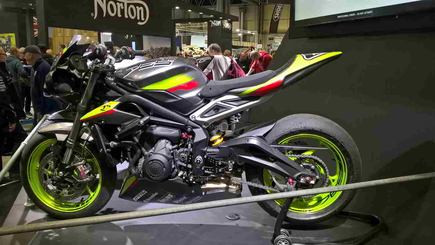 Kenson Lubricants Limited at Motor Cycle Live at the NEC, Birmingham Image