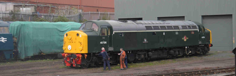 Kenson Lubricants supply Texaco Motak grease to Gloucestershire Warwickshire Railway. Thumbnail