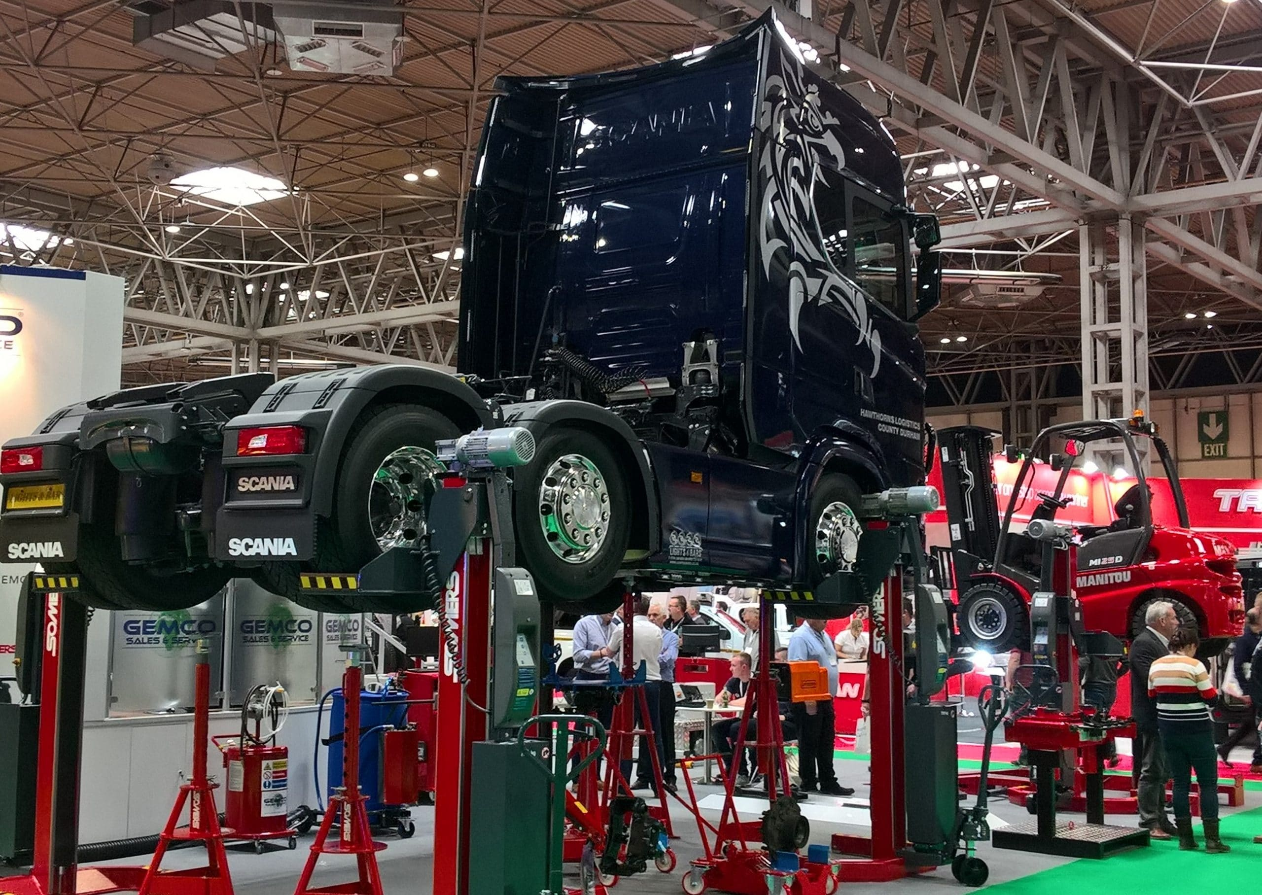 Kenson Lubricants appear at the Commercial Vehicle Show 2019 Image